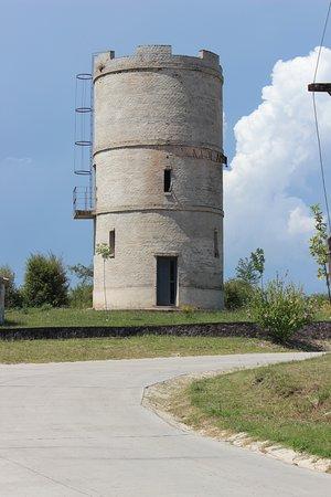 Amboy, Argentina: Tanque de agua en forma de torre