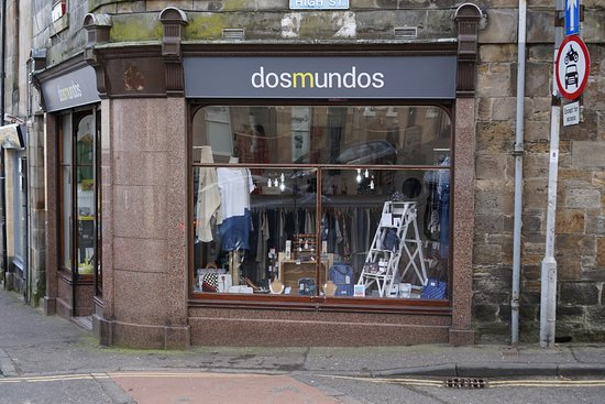 Anstruther, UK: Shop exterior