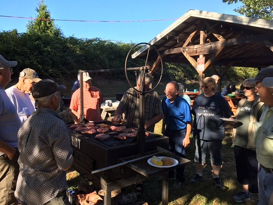 Oakland, OR: The PERFECT campground for group or corporate functions. 1 space or all.