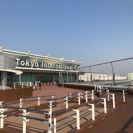 写真羽田空港 国際線ターミナル 展望デッキ枚