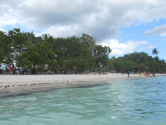 La Romana, Dominicaanse Republiek: playa pública de Bayahibe
