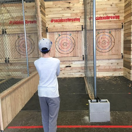 Social Axe Throwing