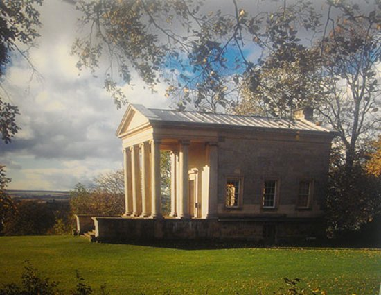 Helmsley, UK: the temple at the Terrace