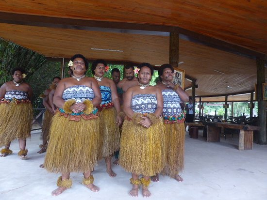 Fiji Culture Village: Song of farewell