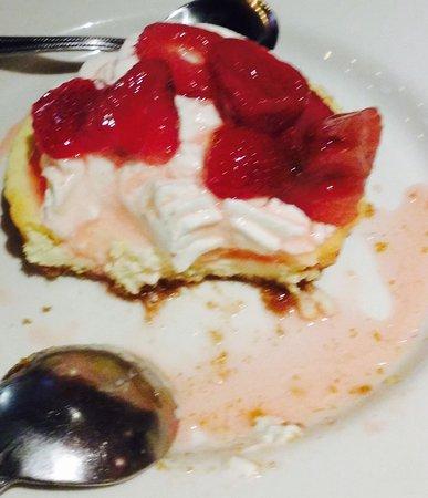 Plan B Burger Bar Fairfield: Strawberry cheesecake