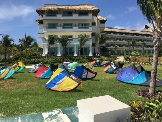 Puro Kitesurf Mexico : This can be the view of your kite holidays