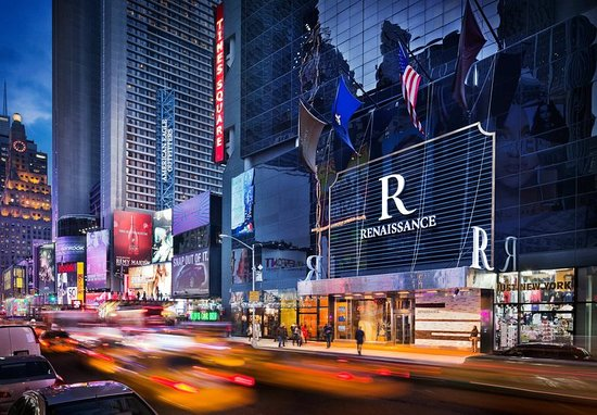 New Year S Eve Overlooking Times Square At The Renaissance Review Of York Hotel City Ny Tripadvisor