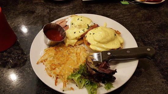 Nearly Classic Eggs Benedict Picture Of Hell S Kitchen