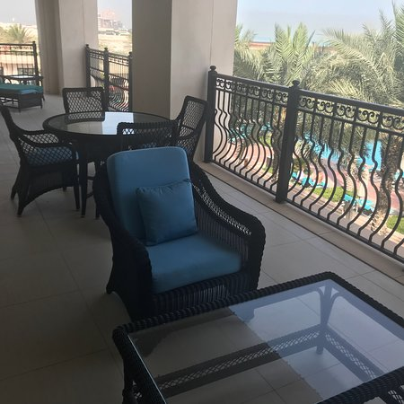 The St. Regis Saadiyat Island Resort: St Regis Saadiyat Island Resort has friendliest Doormen and Bellmen anywhere!  And when you get