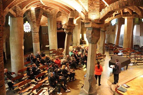 Santa Coloma de Cervello, Spagna: Colonia Güell