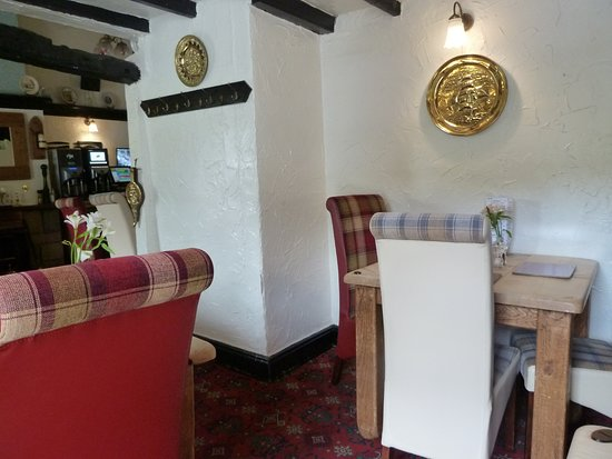 Seating upstairs - Picture of The Brown Cow, Dalton-in