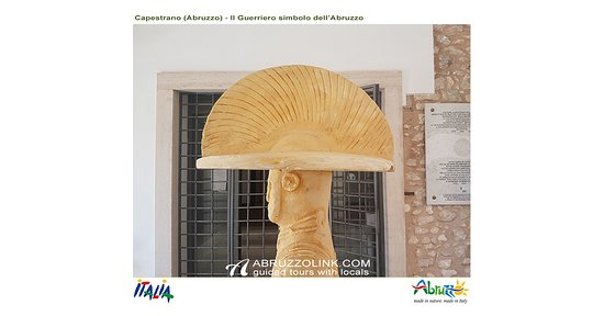 Montesilvano, Italie : Capestrano - The warrior: a symbol of Abruzzo