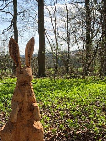 Helmsley, UK: Hare Statue