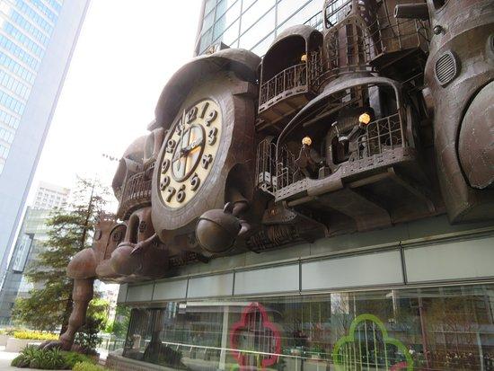 Hayao Miyazaki's Nippon Television Giant Clock