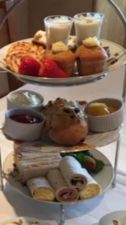 The Elmdene: Now serving luxury afternoon tea all served on our beautiful vintage china,booking essential.