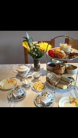 The Elmdene: phone to book afternoon tea,or one of our beautiful rooms 01803 294940
