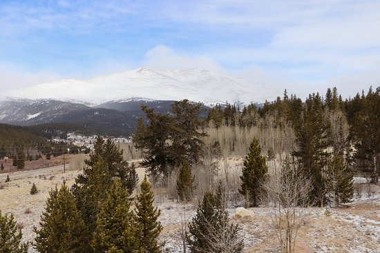 Alma, CO: View from the Front Deck