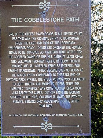 Historic Cobblestone Path