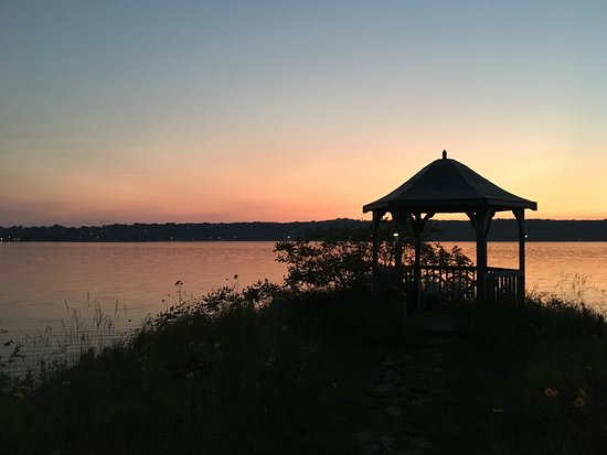 Waterview on The Bay: Gazebo on property