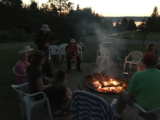 Waterview on The Bay: Community camp fire