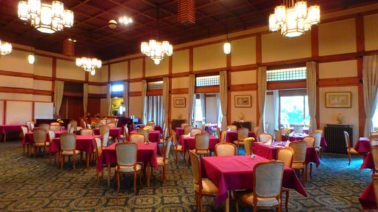 Nara Hotel: Breakfast and French Dining Room.