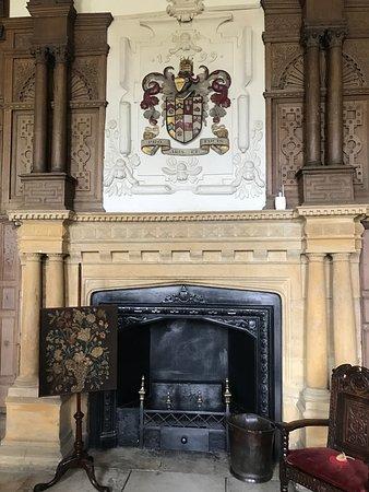 Montacute, UK: Montacute House - Fireplace
