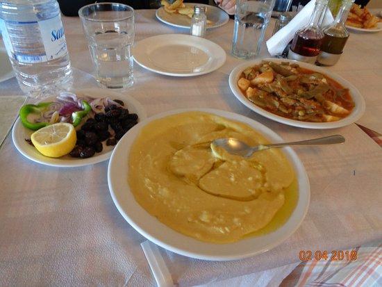 Chorafakia, Grecia: Zupa z fasoli