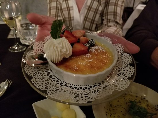 Clifton Forge, VA: Need I say more? Creme Brulee!