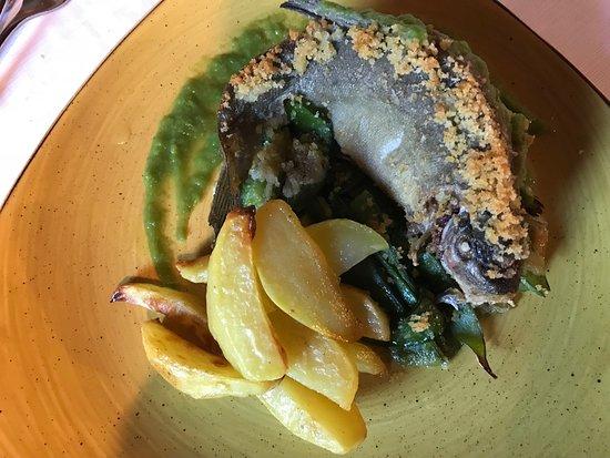 Molino del Torchio: Secondo piatto.