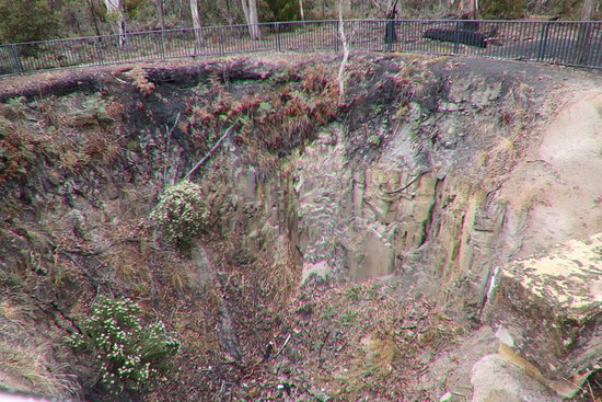 Saltwater River, Australia: The mine