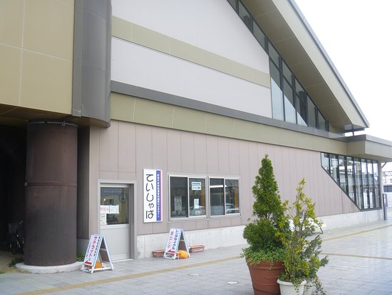 Niitsu Railway Museum Ekinaka Satellite Teishaba