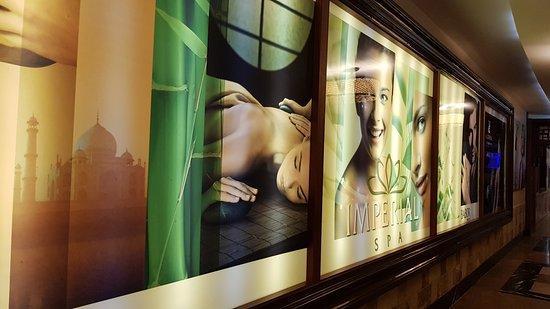 Delphin Imperial Hotel Lara: Spa entrance