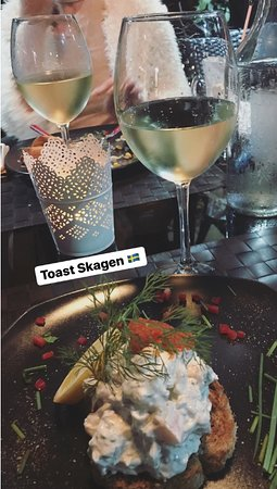 Skagen toast - to die for !