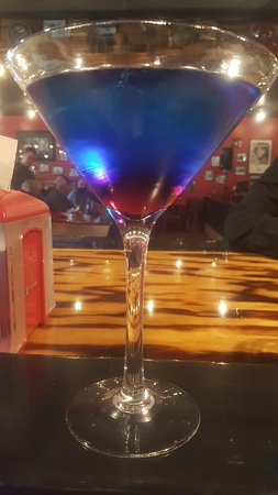 Andrews, Carolina del Nord: Purple haze Martini