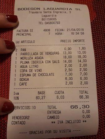 Restaurante el Bodegón: 20180421_163557_large.jpg