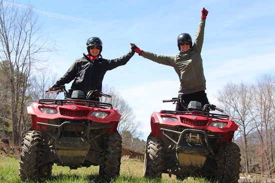 Boone, NC: ATV ride at Doe Mtn, TN