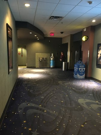 Grande Prairie, Canada: Hall to Theatres Empty