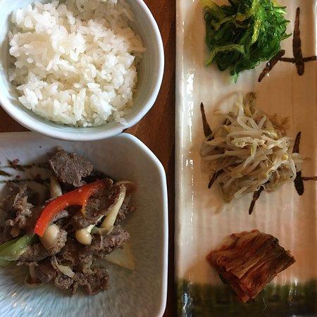 Fantastisk god Koreansk mat