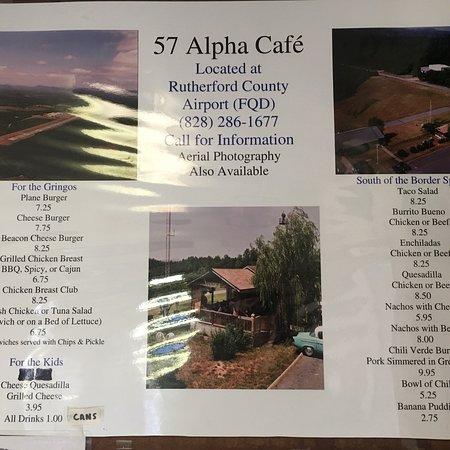 57 Alpha Cafe, Rutherfordton - Restaurant Reviews, Photos