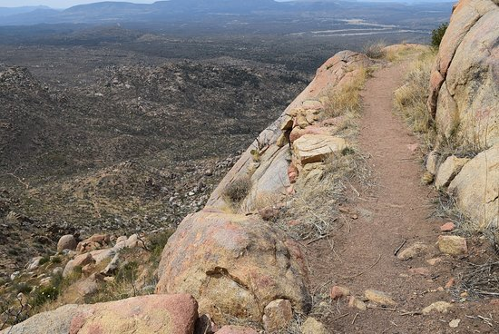 Granite Mountain Trail 261: View looking west