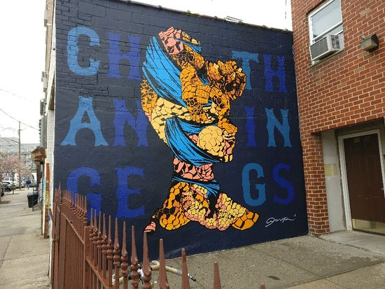 Welling Court Mural Project: Example murals