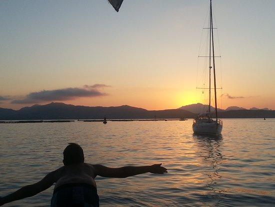 Sardegna Escursioni: tramonto a Golfo Aranci