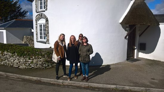 "St Austell, UK: The ""A"" teams from the Alverton and Greenbank Hotels exploring Veryan"