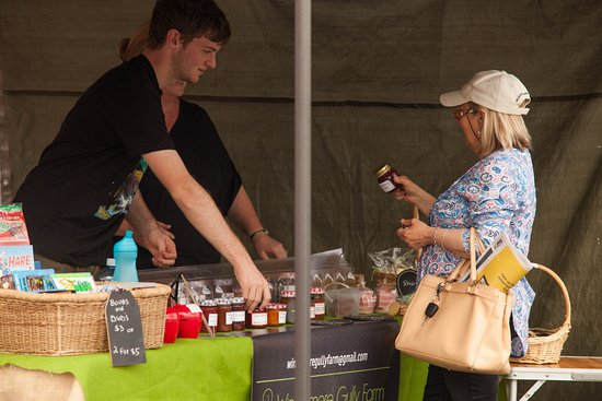 New Norfolk, Australia: Jams, chutneys, casuces, cordials from local produce