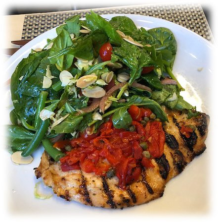 Chicken Paillard With Salad Picture Of Fig Olive New York City Tripadvisor