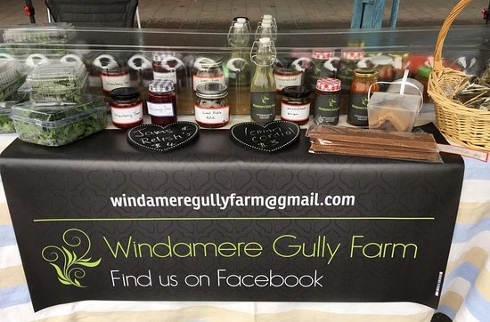 New Norfolk Market: Local made jams from homegrown produce