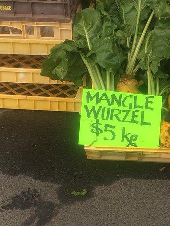 New Norfolk, Australia: where else would you buy your Mangel Wurzels?