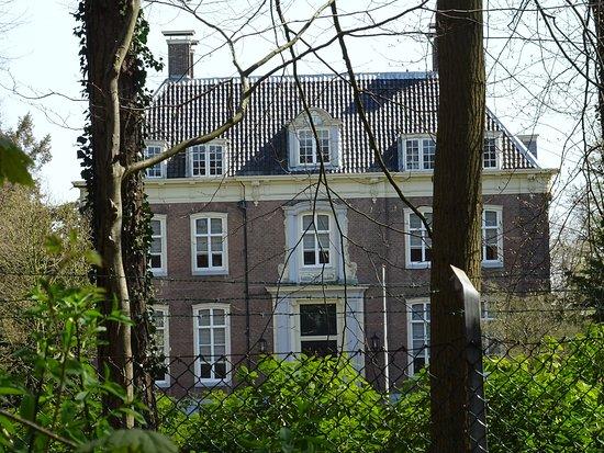 Heemstede, Nederland: voorgevel(westzijde-parkzijde) Buitenplaats Bosbeek