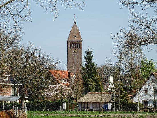 """""""O.L.V Hemelvaart Kerk Heemstede vanuit Groenendaal"""
