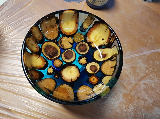 New Norfolk, Australien: Resin bowl